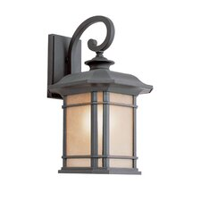 Corner Windows 1 Light Outdoor Wall Lantern
