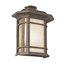 Corner Windows 1 Light Outdoor Flush Mount