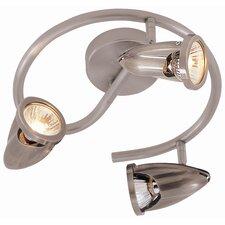 Modern Track Lights 3 Light Spiral Spot Light