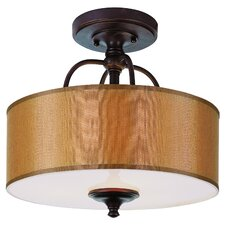 Modern Meets Traditional Semi Flush Mount