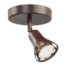 1 Light Semi Flush Mount Track Light