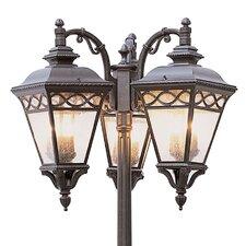 Outdoor 9 Light Post Light
