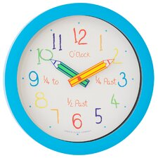 Children's 25cm Pencil Wall Clock