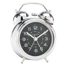 Twin Bell Table Clock