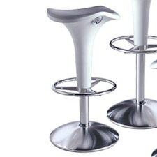 Zanzibar Adjustable Height Swivel Bar Stool (Set of 2)