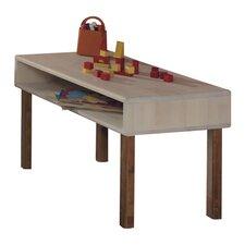 Kindertisch Natura in Birke / Weiß-geölt