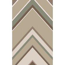 Modern Classics Beige/Taupe Geometric Rug
