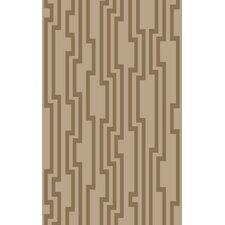 Modern Classics Khaki Area Rug