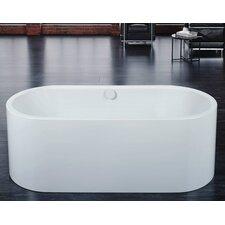 "Centro Duo Oval 67"" x 27.5"" Bathtub"