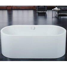 "Centro Duo Oval 67"" x 29.5"" Bathtub"