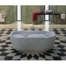 "Mega Duo 71"" x 35"" Soaking Bathtub"