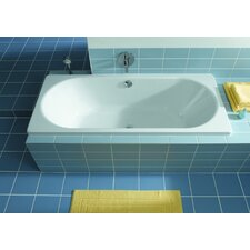 "Klassikduo 71"" x 32"" Soaking Bathtub"