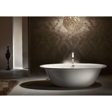 "Luxxo Duo 75"" x 39"" Soaking Bathtub"