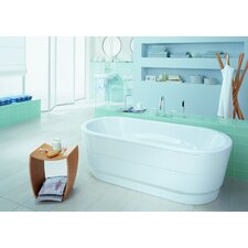 "Vaio Duo 71"" x 32"" Soaking Bathtub"