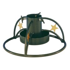 Steel Christmas Tree Stand in Dark Green