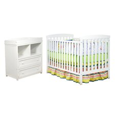 Leila 2 Piece Crib Set