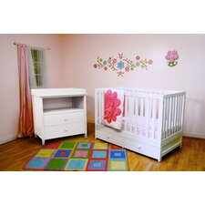 Marilyn 3-in-1 Convertible 2 Piece Crib Set