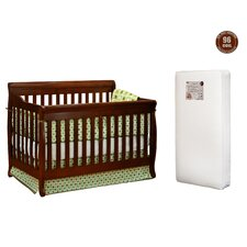 Alice 4-in-1 Convertible Crib with Mattress