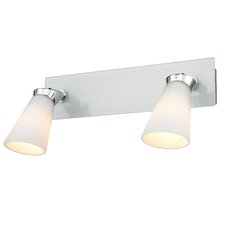 Iberlamp 2 Light Bath Vanity Light