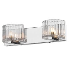 Clara 2 Light Bath Vanity Light