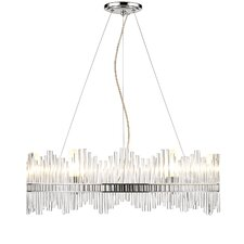Luciano 6 Light Crystal Chandelier