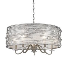 Joia 5 Light Drum Chandelier