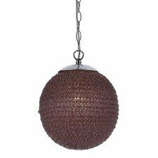 Chloe 1 Light Globe Pendant