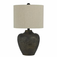 """Danbury 22.5"""" H Table Lamp with Drum Shade"""