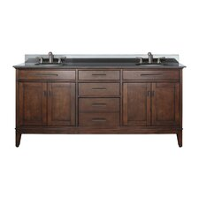 "Madison 72"" Double Bathroom Vanity Set"