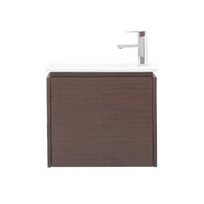 "Milo 22"" Single Wall Mounted Bathroom Vanity Set"