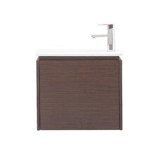 """Milo 22"""" Single Wall Mounted Bathroom Vanity Set"""