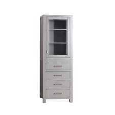 "Modero 24"" x 71"" Freestanding Linen Tower"