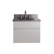"Tribeca 25"" Single Wall Mounted Bathroom Vanity Set"