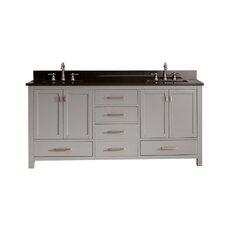"Modero 73"" Double Bathroom Vanity Set"