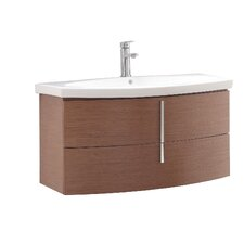 "Siena 36"" Single Wall Mounted Bathroom Vanity Set"