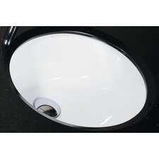 Vitreous China Undermount Bathroom Sink