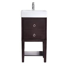 "Kent 18"" Single Modern Bathroom Vanity Set"