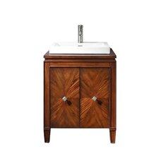 """Brentwood 25"""" Single Bathroom Vanity Set"""