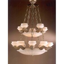Leon Traditional Chandelier in Ancient Gold