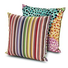 Dalia Rainbow Indoor/Outdoor Throw Pillow