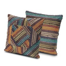 Oxford Patchwork Throw Pillow