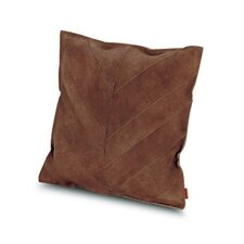 Oman Patchwork Leather Throw Pillow