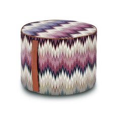 Phrae Cylindrical Pouf Ottoman