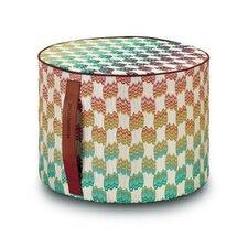 Pailin Cylindrical Pouf Ottoman