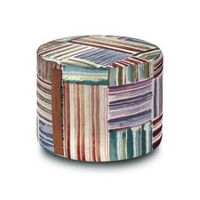 Palenque Cylindrical Pouf Ottoman