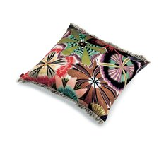Passiflora T59 Cotton Throw Pillow