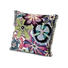 Passiflora T50 Cotton Throw Pillow