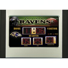 NFL Scoreboard Desk Clock