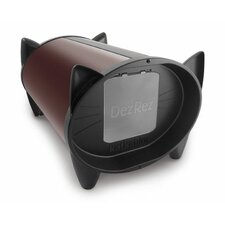 Outdoor Cat House in Chocolate Brown