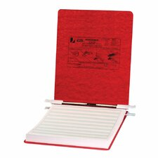 Pressboard Hanging Data Binder, 9-1/2 x 11 Unburst Sheets